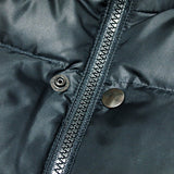 UNDERCOVER 16S/S LEATHER SLEEVE DOWN JACKET