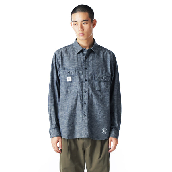 uniform experiment 21S/S BIG WORK SHIRT