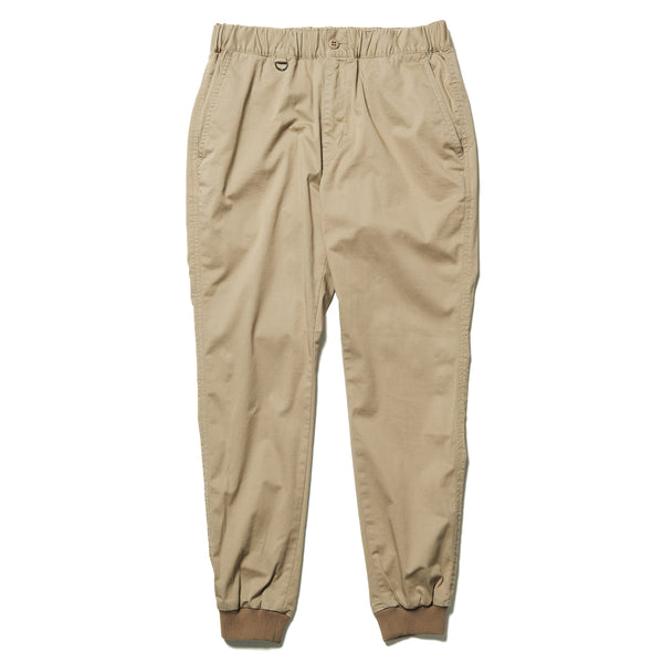 uniform experiment 21S/S STRETCH CHINO RIBBED EASY PANTS
