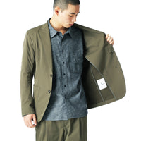 uniform experiment 21S/S SOLOTEX STRETCH TWILL 2BUTTON JACKET