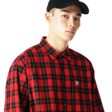 uniform experiment 21S/S BAGGY REGULAR COLLAR CHECK SHIRT