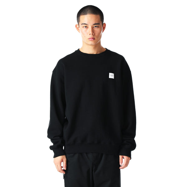 uniform experiment 21S/S L/S AUTHENTIC WIDE CREWNECK SWEAT