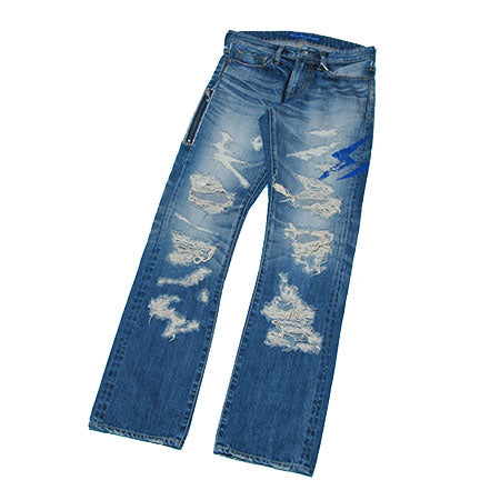 VANQUISH x fragment design Hard Regular Straight Denim Pants