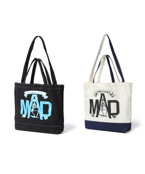 UNDERCOVER MAD SKULL 2WAY TOTE BAG