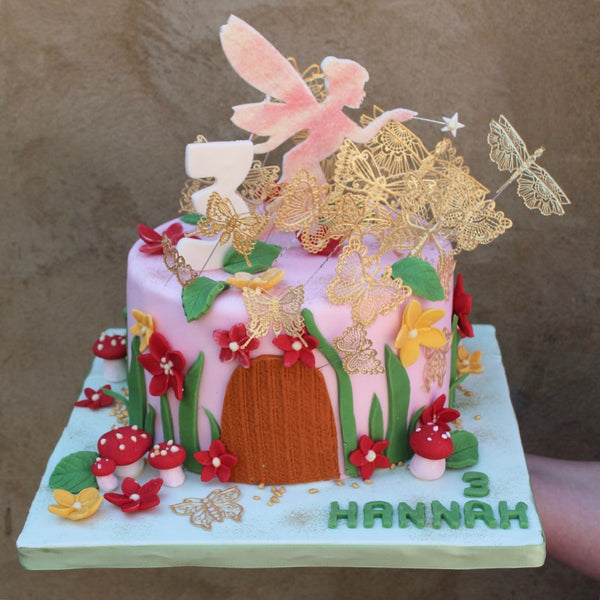 Fairy Decorated Cake