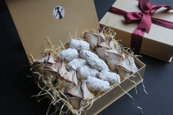 Small Mince Pie and Stollen Gift Box