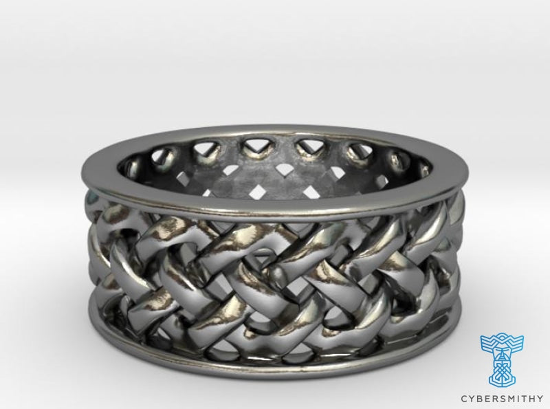Knotwork Ring - complex - CyberSmithy
