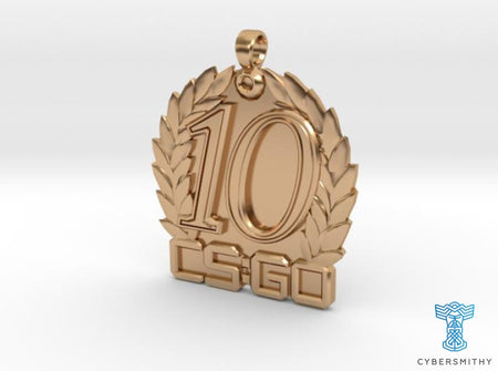 CS:GO - Ten Year Veteran Medallion - CyberSmithy