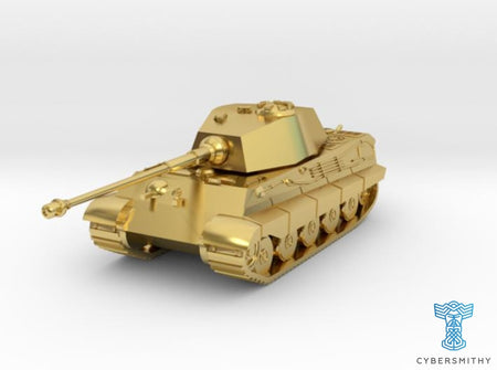 Tank - Tiger 2 - size Large 3d printed