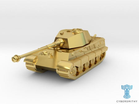 Tank - Tiger 2 - size Small 3d printed