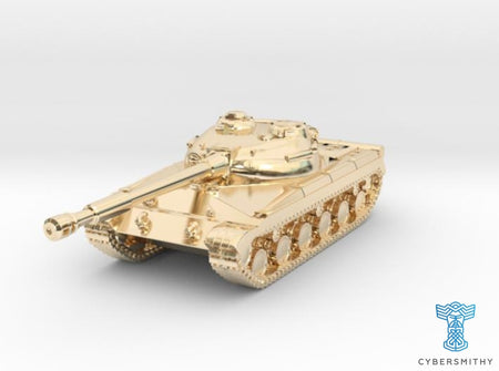 Tank - T-64 - Object 430 - scale 1:220 3d printed