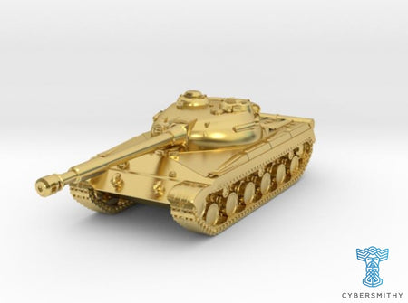 Tank - T-64 - Object 430 - scale 1:160 3d printed
