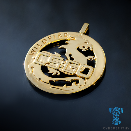 CS:GO - Operation Wildfire Medallion - CyberSmithy