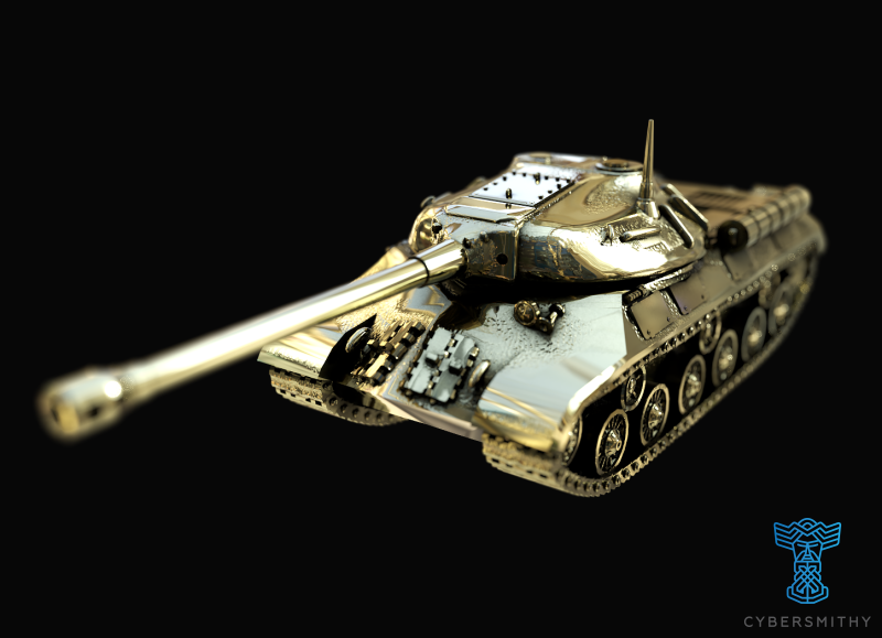 Tank - IS-3 / Object 703 - size Large - CyberSmithy