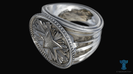 CS:GO - Service Medal Ring - CyberSmithy