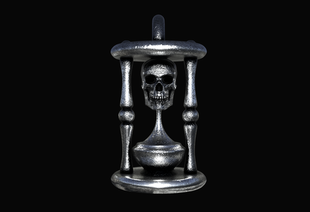 Skull of Time Pendant - CyberSmithy