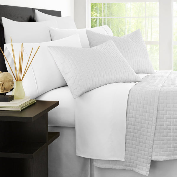 Zen Bamboo 1800 Series Luxury Bed Sheets - Eco-friendly, Hypoallergenic and Wrinkle Resistant Rayon Derived From Bamboo  - 4-Piece