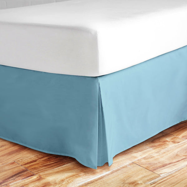 Zen Bamboo Ultra Soft Bed Skirt - Premium, Eco-friendly, Hypoallergenic, and Wrinkle Resistant Rayon Derived From Rayon Dust Ruffle with 15-inch Drop