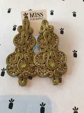 Load image into Gallery viewer, Bugambilias - maxi earrings