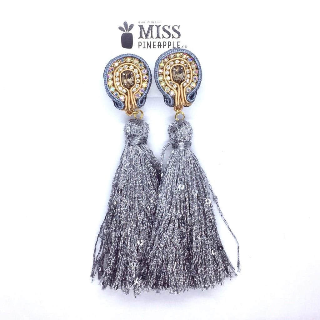 Tassel - Metálicos - Long - 5 colours