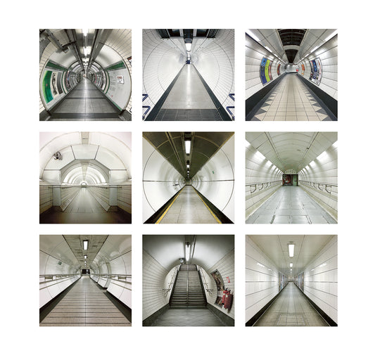 Capturing the London Underground in a Unique Way