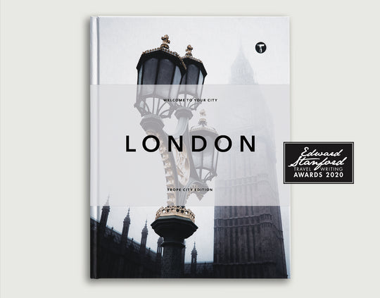 Trope London Book Wins the 2020 Edward Stanford Travel Book of the Year
