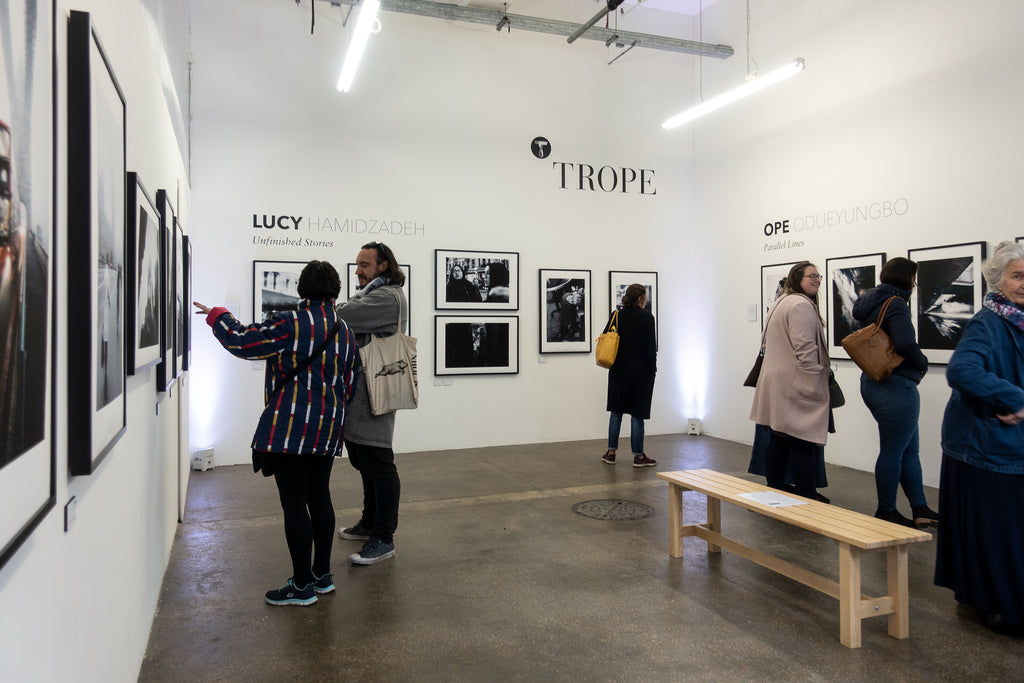 Trope London Exhibit in Shoreditch