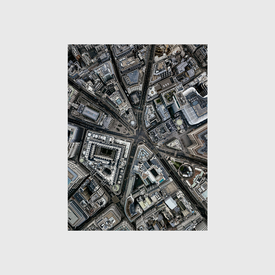 Aerial view of Bank Junction