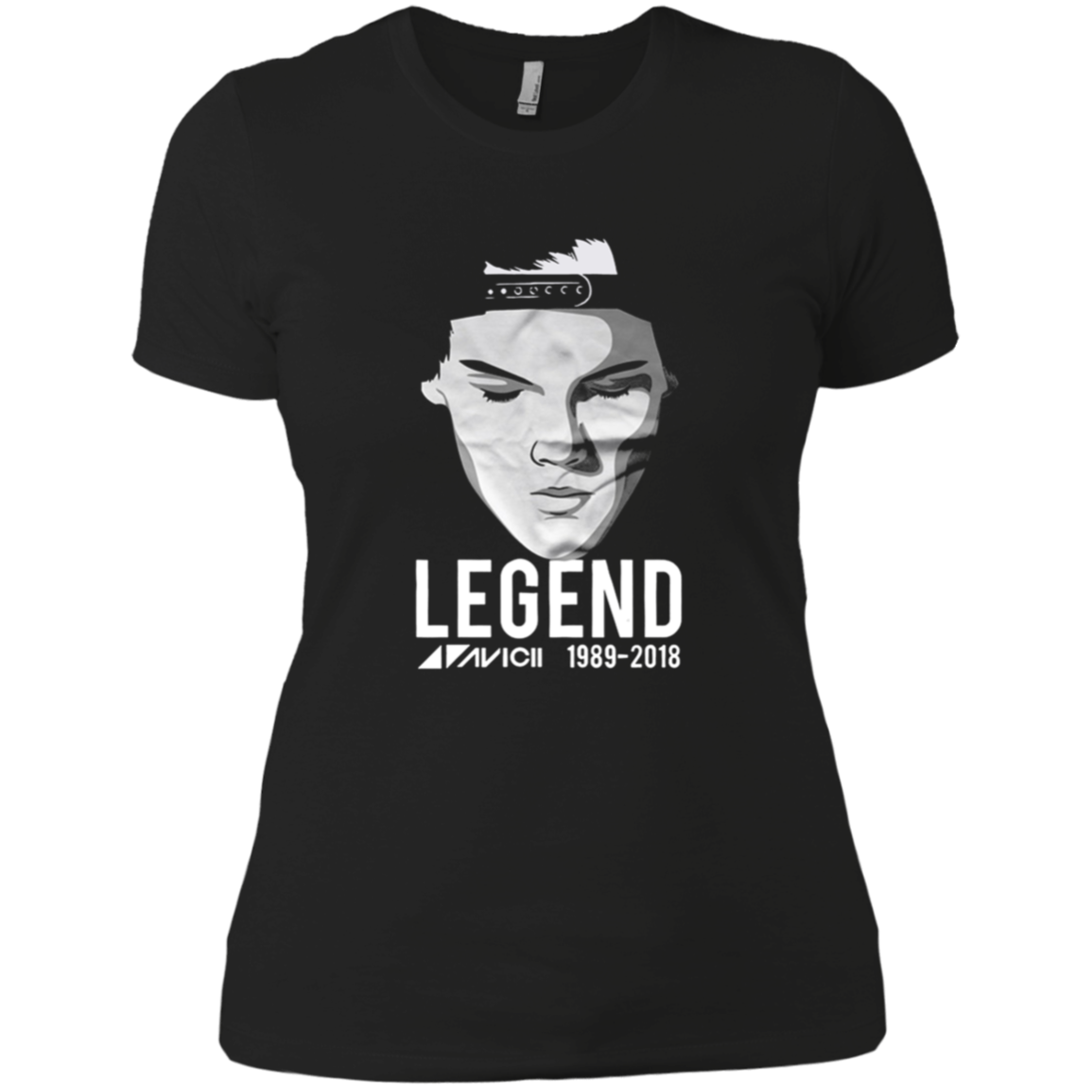 RIP AVICII Tim Bergling Death 1989-2018 Shirt Ladies
