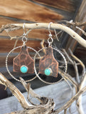 Copper cowtag n hoops