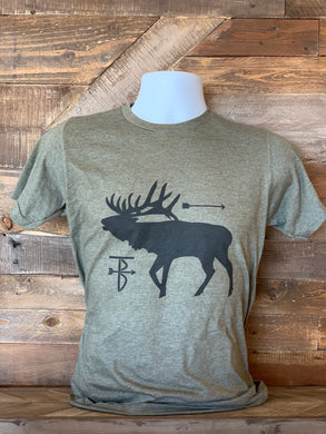 Thats Bowhunting | Bugling Bull | Military Green
