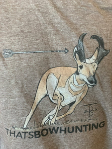 Thats Bowhunting | Painted Antelope | Heather Brown