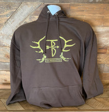 Load image into Gallery viewer, Thats Bowhunting | Elk Horn| Brown College Hoodie