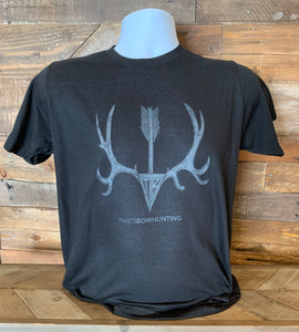 Thats Bowhunting | Muledeer Arrow | Black