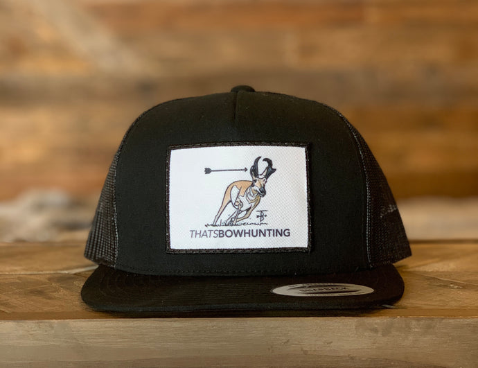 That's Bowhunting | Black Trucker | Antelope Patch