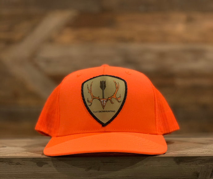 Solid Hunter Orange | Mule deer Patch| Richardson 112
