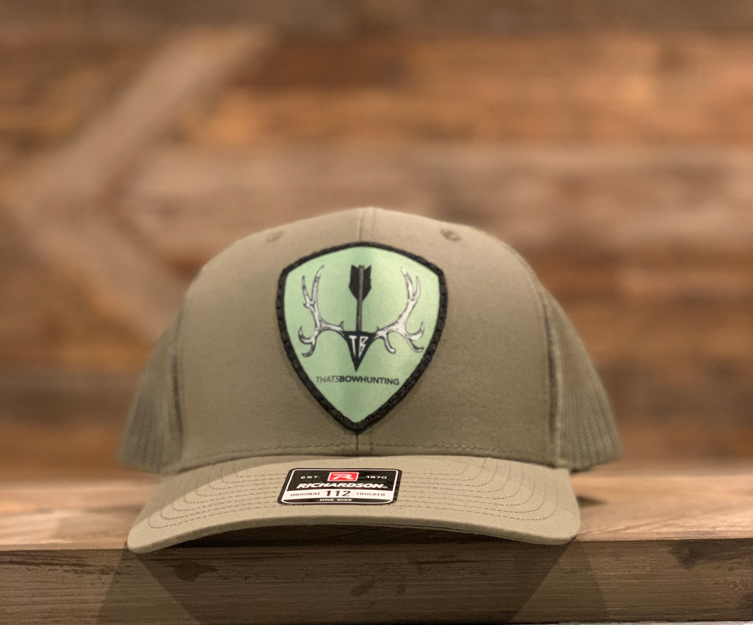 Solid Loden | Mule deer Patch| Richardson 112