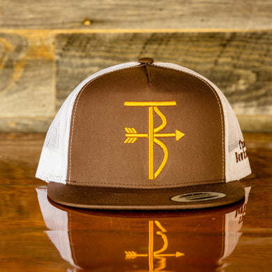 That's Bowhunting Brown and Gold 5P Snapback