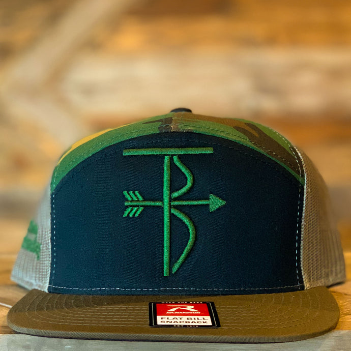 That's Bowhunting | Richardson 168 7 Panel Trucker Cap | TB Logo