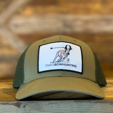 Thats Bowhunting | Richardson 115 Low Pro Mesh Back Trucker | Antelope Patch