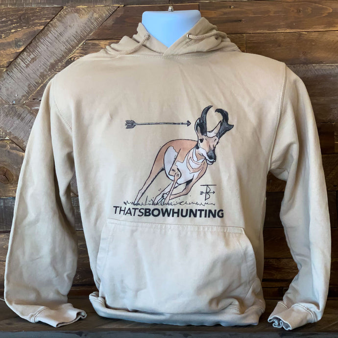Thats Bowhunting | Painted Antelope | Desert College Hoodie