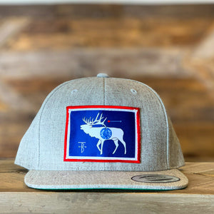 That's Bowhunting | Heather Grey Trucker | Elk Flag