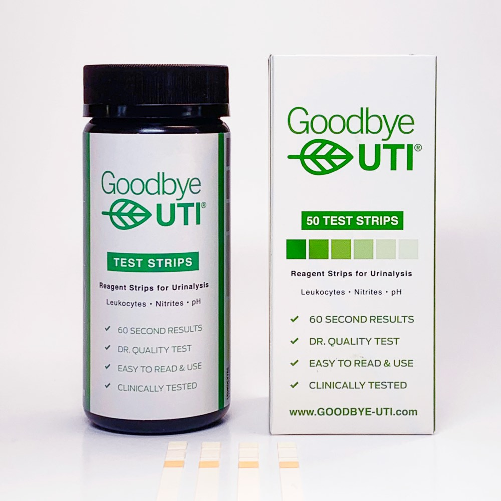 Goodbye UTI Checkup Test Strips
