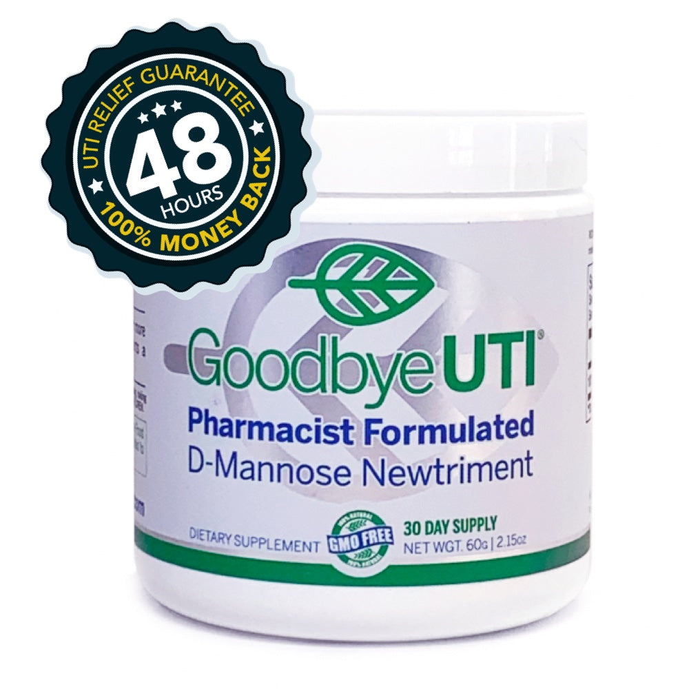 Goodbye UTI D-Mannose Powder