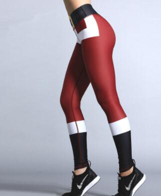 Kerst legging Deluxe- High waist
