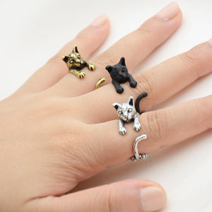Katten Ring 'Cute Cats Deluxe™'