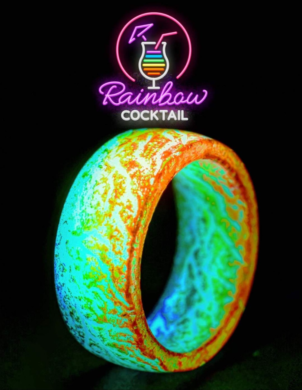 Glow-in-the-Dark Ringen - 'MoonStone Rings™'