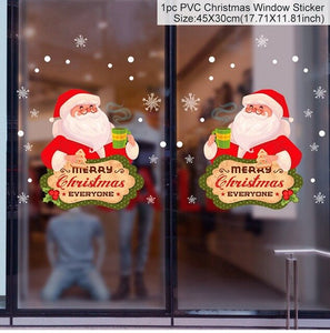 Kerst Raamstickers - Beautiful Decorations™