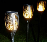 Luminous Solar Light Fakkel Set