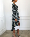 Glamoraza Leopard Dress